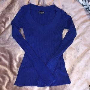 Final ⚠️ Cobalt Sweater